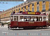 Historische Strassenbahnen in Lissabon (Wandkalender 2019 DIN A4 quer) - Produktdetailbild 2