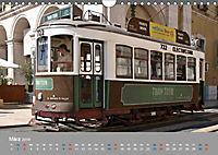 Historische Strassenbahnen in Lissabon (Wandkalender 2019 DIN A4 quer) - Produktdetailbild 3
