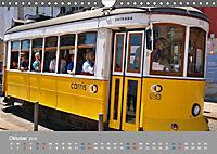 Historische Strassenbahnen in Lissabon (Wandkalender 2019 DIN A4 quer) - Produktdetailbild 10