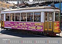 Historische Strassenbahnen in Lissabon (Wandkalender 2019 DIN A4 quer) - Produktdetailbild 8