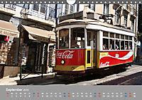 Historische Strassenbahnen in Lissabon (Wandkalender 2019 DIN A4 quer) - Produktdetailbild 9