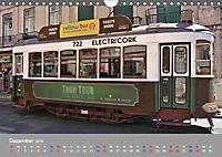 Historische Strassenbahnen in Lissabon (Wandkalender 2019 DIN A4 quer) - Produktdetailbild 12