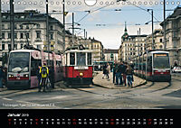 Historische Strassenbahnen in WienAT-Version (Wandkalender 2019 DIN A4 quer) - Produktdetailbild 1