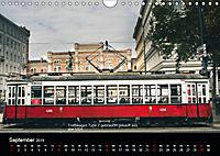 Historische Strassenbahnen in WienAT-Version (Wandkalender 2019 DIN A4 quer) - Produktdetailbild 9