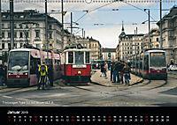 Historische Straßenbahnen in WienAT-Version (Wandkalender 2019 DIN A2 quer) - Produktdetailbild 1