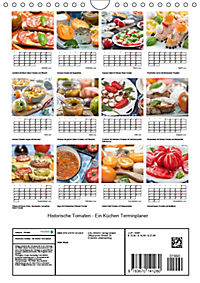 Historische Tomaten - Ein Küchen Terminplaner (Wandkalender 2019 DIN A4 hoch) - Produktdetailbild 13