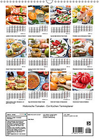 Historische Tomaten - Ein Küchen Terminplaner (Wandkalender 2019 DIN A3 hoch) - Produktdetailbild 13
