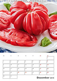 Historische Tomaten - Ein Küchen Terminplaner (Wandkalender 2019 DIN A3 hoch) - Produktdetailbild 12