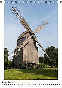 Historische Windmühlen in Minden-Lübbecke (Tischkalender 2019 DIN A5 hoch) - Produktdetailbild 3
