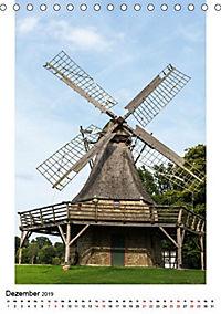 Historische Windmühlen in Minden-Lübbecke (Tischkalender 2019 DIN A5 hoch) - Produktdetailbild 10