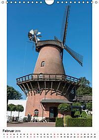 Historische Windmühlen in Minden-Lübbecke (Wandkalender 2019 DIN A4 hoch) - Produktdetailbild 2