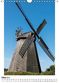 Historische Windmühlen in Minden-Lübbecke (Wandkalender 2019 DIN A4 hoch) - Produktdetailbild 3