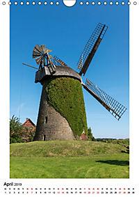 Historische Windmühlen in Minden-Lübbecke (Wandkalender 2019 DIN A4 hoch) - Produktdetailbild 4