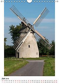 Historische Windmühlen in Minden-Lübbecke (Wandkalender 2019 DIN A4 hoch) - Produktdetailbild 6