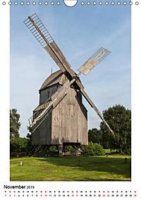 Historische Windmühlen in Minden-Lübbecke (Wandkalender 2019 DIN A4 hoch) - Produktdetailbild 11