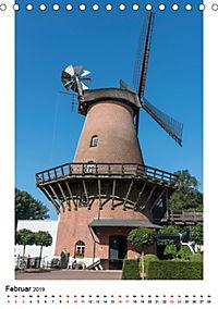 Historische Windmühlen in Minden-Lübbecke (Tischkalender 2019 DIN A5 hoch) - Produktdetailbild 2