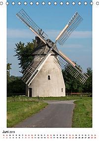 Historische Windmühlen in Minden-Lübbecke (Tischkalender 2019 DIN A5 hoch) - Produktdetailbild 6