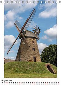 Historische Windmühlen in Minden-Lübbecke (Tischkalender 2019 DIN A5 hoch) - Produktdetailbild 8