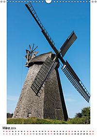 Historische Windmühlen in Minden-Lübbecke (Wandkalender 2019 DIN A3 hoch) - Produktdetailbild 3