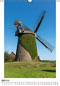 Historische Windmühlen in Minden-Lübbecke (Wandkalender 2019 DIN A3 hoch) - Produktdetailbild 4