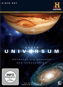 History: Unser Universum - 2. Staffel, Laura Verklan, Douglas Cohen, Brittany Graham, Tony Long, Rebecca Graham, Colin Campbell, Andrew Nock, Rob Beemer, Darryl Rehr