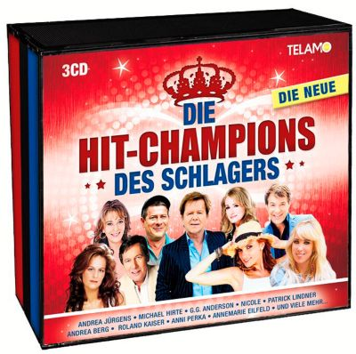Hit-Champions des Schlagers Vol. 2 (3 CDs), Diverse Interpreten