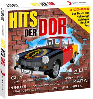 Hits der DDR (Exklusive 3CD-Box), Diverse Interpreten