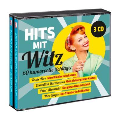 Hits mit Witz - 60 humorvolle Schlager, Various