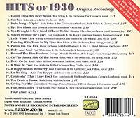 Hits Of 1930-Happy Days Are - Produktdetailbild 1