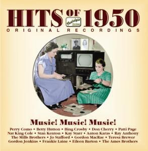 Hits Of 1950, Diverse Interpreten