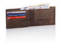 HJP Herren Geldbörse, Öko Datensafe braun - Produktdetailbild 1