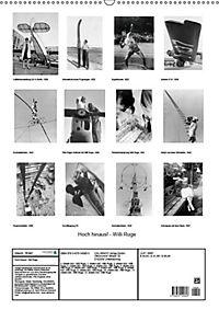 Hoch hinaus! - Willi Ruge (Wandkalender 2019 DIN A2 hoch) - Produktdetailbild 4