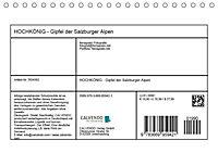 HOCHKÖNIG - Gipfel der Salzburger Alpen (Tischkalender 2019 DIN A5 quer) - Produktdetailbild 13