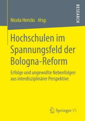 Hochschulen im Spannungsfeld der Bologna-Reform