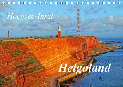 Hochsee-Insel Helgoland (Tischkalender 2019 DIN A5 quer), Martina Fornal