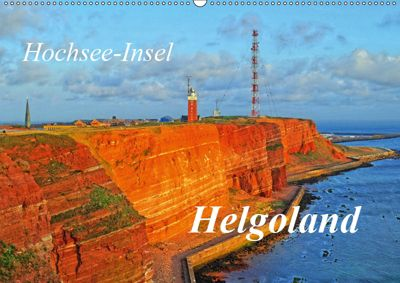 Hochsee-Insel Helgoland (Wandkalender 2019 DIN A2 quer), Martina Fornal