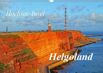Hochsee-Insel Helgoland (Wandkalender 2019 DIN A3 quer), Martina Fornal