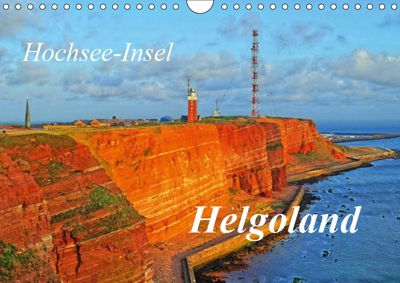 Hochsee-Insel Helgoland (Wandkalender 2019 DIN A4 quer), Martina Fornal