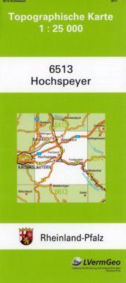 Hochspeyer 1 : 25 000