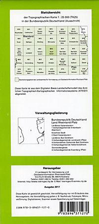 Hochspeyer 1 : 25 000 - Produktdetailbild 1