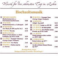Hochzeitsmusik, CD - Produktdetailbild 1