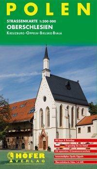 Höfer Straßenkarte Polen - Oberschlesien