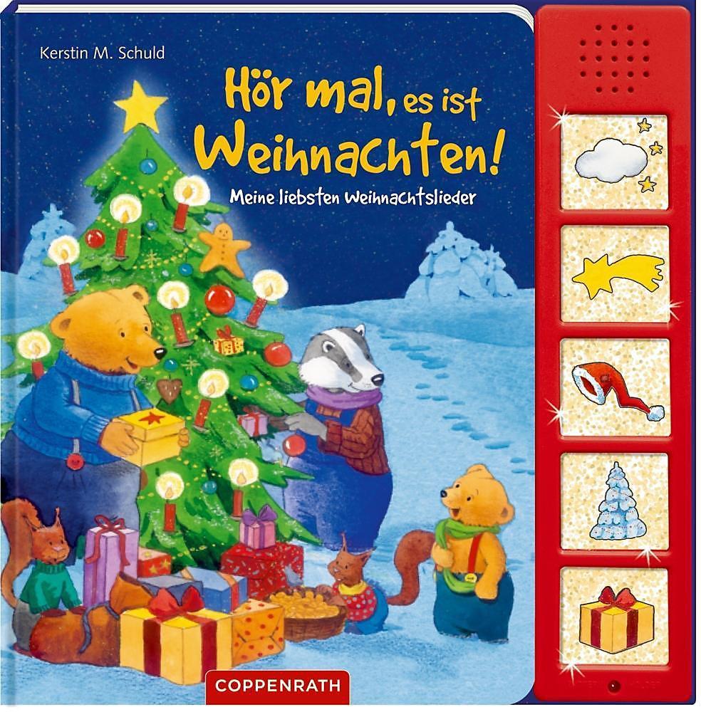 Hör mal, es ist Weihnachten!, m. Soundeffekten Buch versandkostenfrei