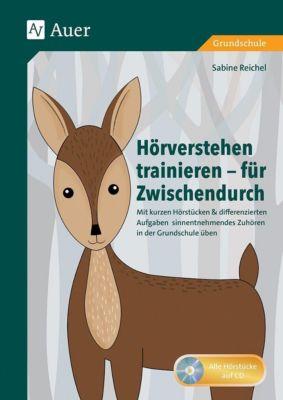 Hörverstehen trainieren - für Zwischendurch, m. Audio-CD, Sabine Reichel