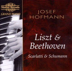 Hofmann Plays Liszt+Beethoven, Josef Hofmann