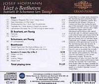 Hofmann Plays Liszt+Beethoven - Produktdetailbild 1