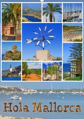 Hola Mallorca (Wandkalender 2019 DIN A2 hoch), Paul Michalzik