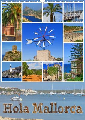 Hola Mallorca (Wandkalender 2019 DIN A3 hoch), Paul Michalzik