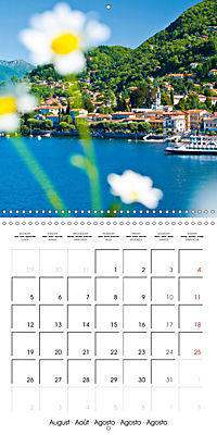Holiday greetings from the upper Italian lakes (Wall Calendar 2019 300 × 300 mm Square) - Produktdetailbild 8