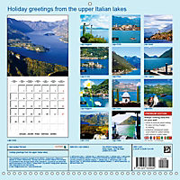 Holiday greetings from the upper Italian lakes (Wall Calendar 2019 300 × 300 mm Square) - Produktdetailbild 13